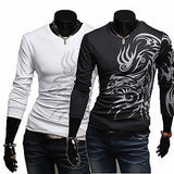 Tattoo Shirts For Men - Casual Shirts - eDealRetail - 4