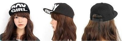 Boy/Girl Black Adjustable Snapback Hat - Hats - eDealRetail - 4