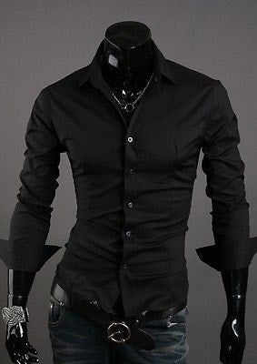 Formal Shirts For Men - 10 Color Casual Dress Shirts - Dress Shirts - eDealRetail - 7