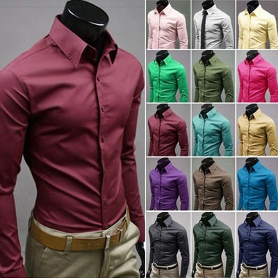 Business Shirt Dress Colors