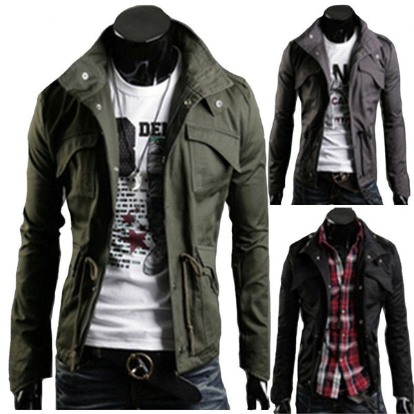 Military Style Winter Jackets - Jacket - eDealRetail - 2