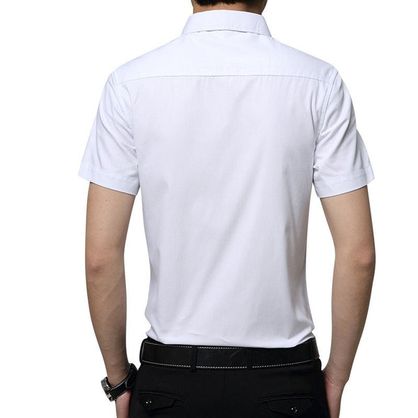 2016 Short Sleeve Pocket Casual Shirt - Casual Shirts - eDealRetail - 4