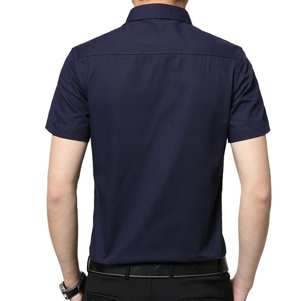 2016 Short Sleeve Pocket Casual Shirt - Casual Shirts - eDealRetail - 8