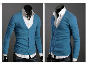 Men's Knitwear Slim Casual Fleece Sweater - sweater - eDealRetail - 9