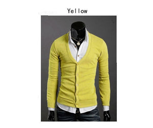 Men's Knitwear Slim Casual Fleece Sweater - sweater - eDealRetail - 18