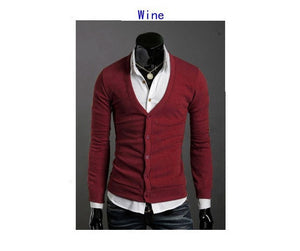 Men's Knitwear Slim Casual Fleece Sweater - sweater - eDealRetail - 20