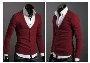 Men's Knitwear Slim Casual Fleece Sweater - sweater - eDealRetail - 21