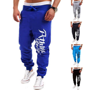 Athletic Design Print Sweatpants - Stylish Pants - eDealRetail - 5