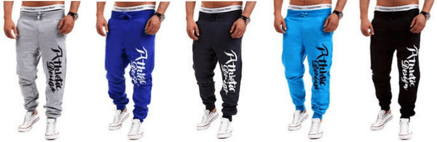 Athletic Design Print Sweatpants - Stylish Pants - eDealRetail - 6