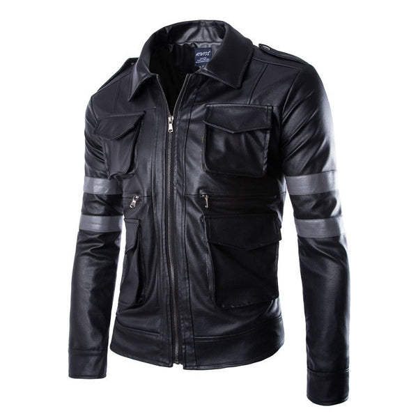 Resident Evil Biohazard Leather Jackets - Jacket - eDealRetail - 2