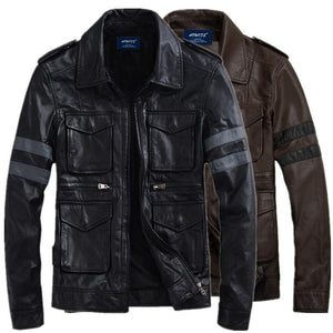 Resident Evil Biohazard Leather Jackets - Jacket - eDealRetail - 6