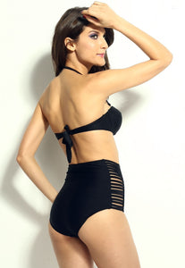 High Waisted Slit Summer Bikinis - Swimsuit - eDealRetail - 4