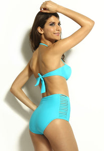 High Waisted Slit Summer Bikinis - Swimsuit - eDealRetail - 10