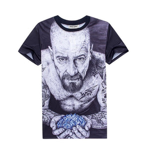 Breaking Bad Walter White Shirt - 3D T-Shirts - eDealRetail