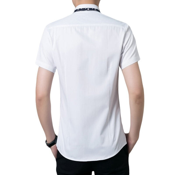 Casual Short Sleeve Collar Shirts - Casual Shirts - eDealRetail - 6