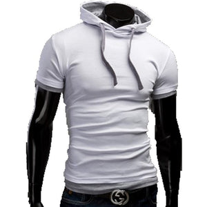 Casual Short Sleeved Hoodie T-Shirts - Casual Shirts - eDealRetail - 4