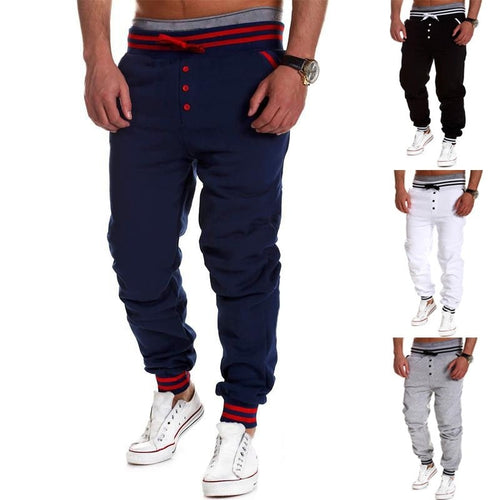 Casual Skinny Jogging Sweatpants - Stylish Pants - eDealRetail - 1