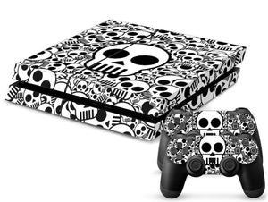 Classic Skulls PS4 Skin + 2 Controller Skins - PS4 Skins - eDealRetail - 1