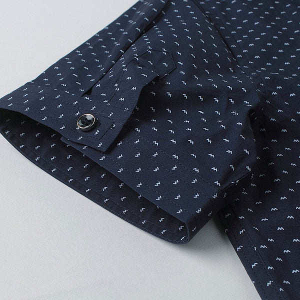 Designer Short Sleeve Dotted Shirts - Casual Shirts - eDealRetail - 14