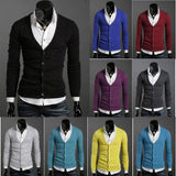 Men's Knitwear Slim Casual Fleece Sweater - sweater - eDealRetail - 1