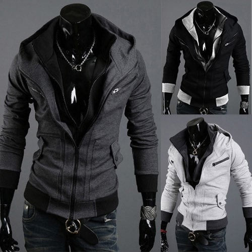 Assassins Creed Style Hoodie Double Layer - Hoodies - eDealRetail - 1
