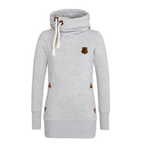 Funnel Neck Pullover Hoodies For Women - Hoodies - eDealRetail - 10
