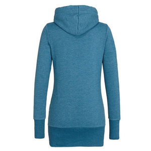 Funnel Neck Pullover Hoodies For Women - Hoodies - eDealRetail - 5
