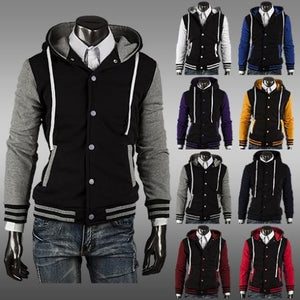 2016 Men's Fleece Varsity Jackets - Coat Jacket - eDealRetail - 1