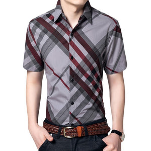 Hot Summer Striped Collar Shirts - Casual Shirts - eDealRetail - 2
