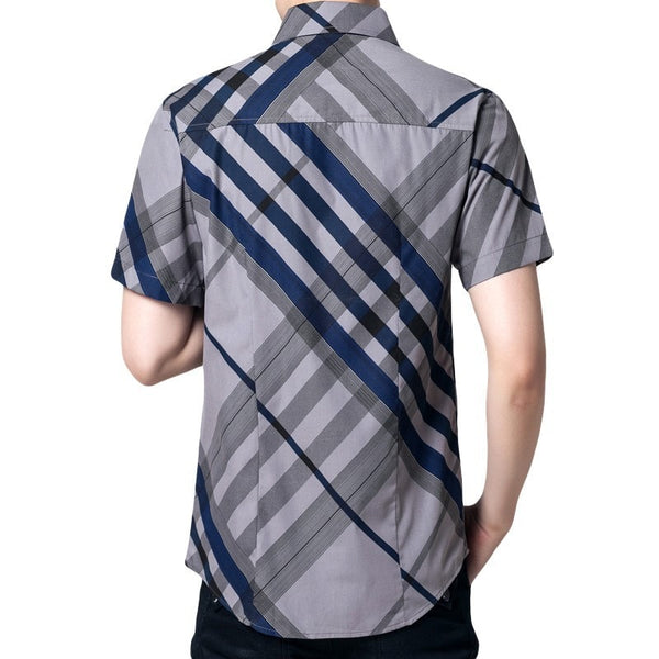 Hot Summer Striped Collar Shirts - Casual Shirts - eDealRetail - 3