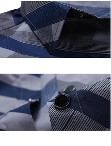 Hot Summer Striped Collar Shirts - Casual Shirts - eDealRetail - 5