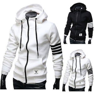 Hooded Zip Pullover Sweatshirts - Hoodies - eDealRetail - 1