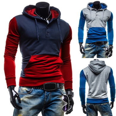 Trendy Two-Tone Sweatshirt Pullovers - Hoodies - eDealRetail - 1