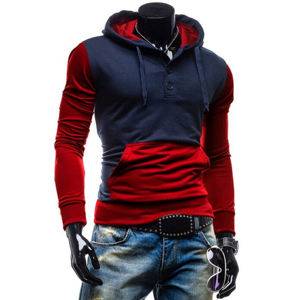 Trendy Two-Tone Sweatshirt Pullovers - Hoodies - eDealRetail - 5