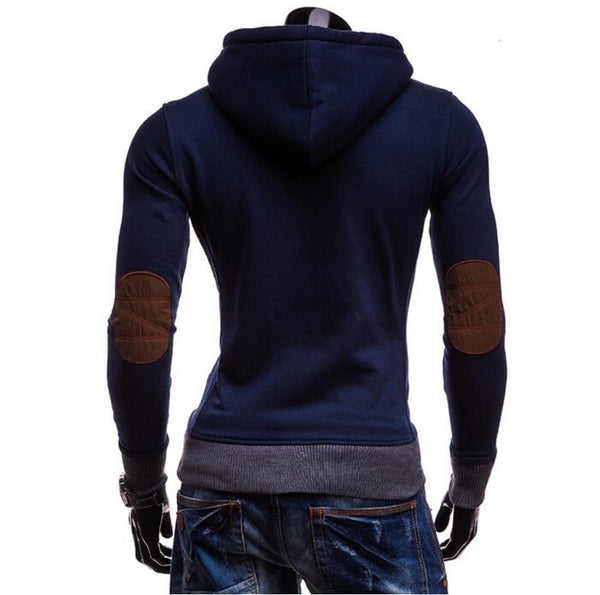 Trendy Horn Button Pullover Hoodie - Hoodies - eDealRetail - 5