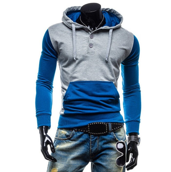 Trendy Two-Tone Sweatshirt Pullovers - Hoodies - eDealRetail - 8