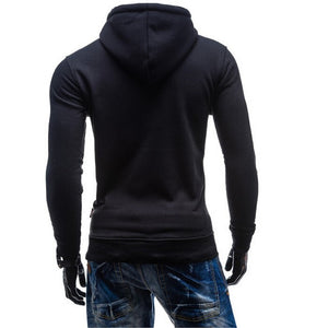 2016 Stylish Collar Button Hoodie - Hoodies - eDealRetail - 10