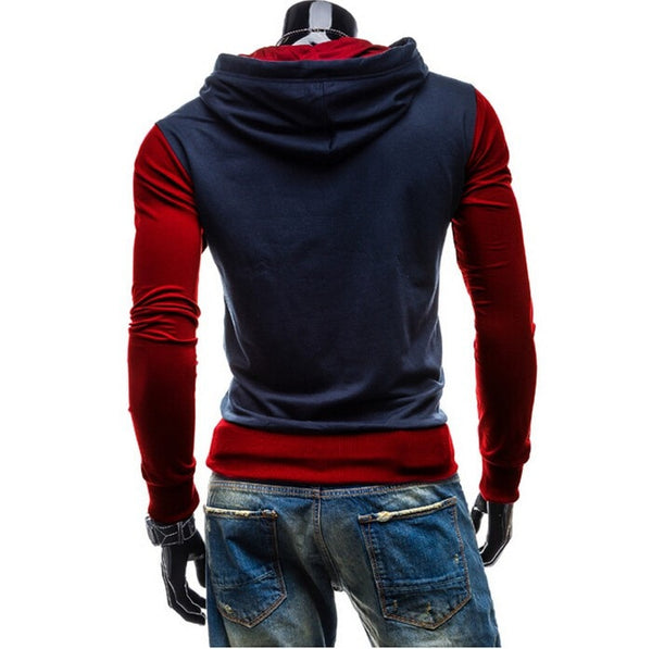 Trendy Two-Tone Sweatshirt Pullovers - Hoodies - eDealRetail - 2