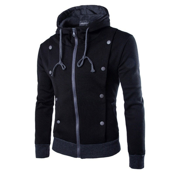Korean Style Hooded Jacket - Hoodies - eDealRetail - 3