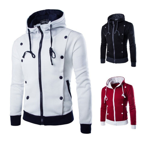 Korean Style Hooded Jacket - Hoodies - eDealRetail - 1