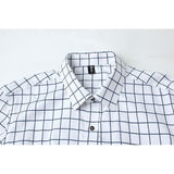 Long Sleeve Plaid Collar Shirts - Dress Shirts - eDealRetail - 11
