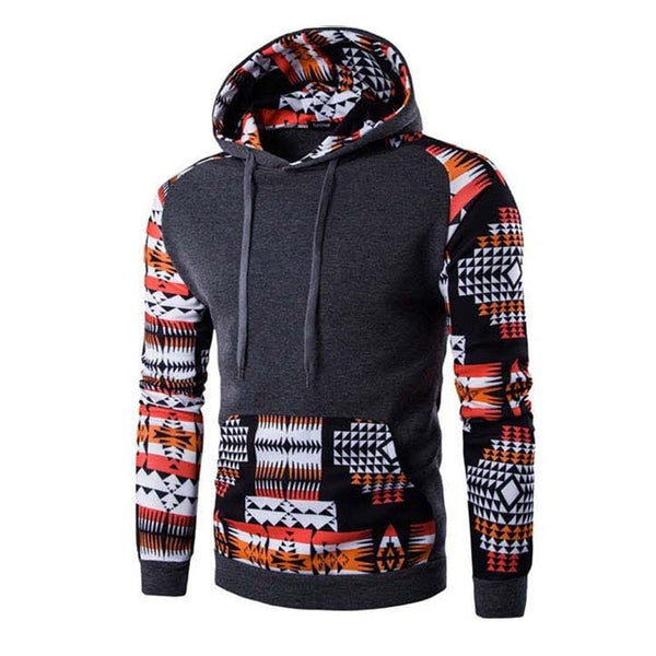 Men's Aztec Pattern Hoodies - Hoodies - eDealRetail - 10