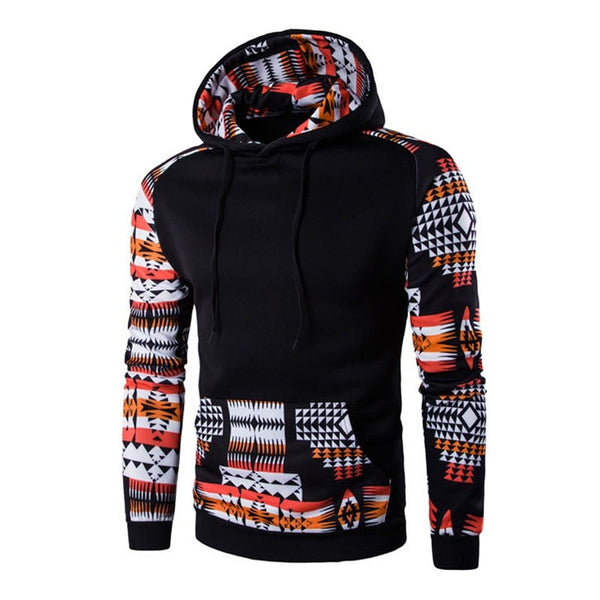 Men's Aztec Pattern Hoodies - Hoodies - eDealRetail - 9