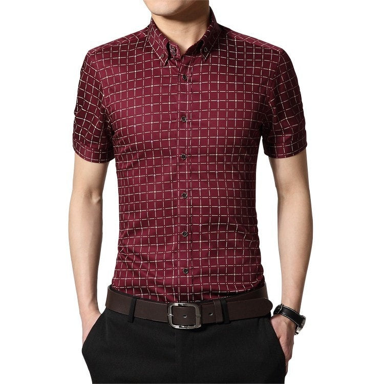 Men's Short Sleeve Casual Shirts - Casual Shirts - eDealRetail - 3