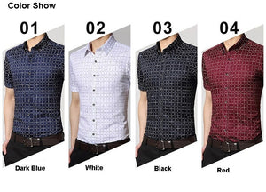 Men's Short Sleeve Casual Shirts - Casual Shirts - eDealRetail - 9