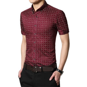 Men's Short Sleeve Casual Shirts - Casual Shirts - eDealRetail - 4