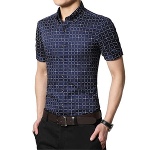 Men's Short Sleeve Casual Shirts - Casual Shirts - eDealRetail - 5