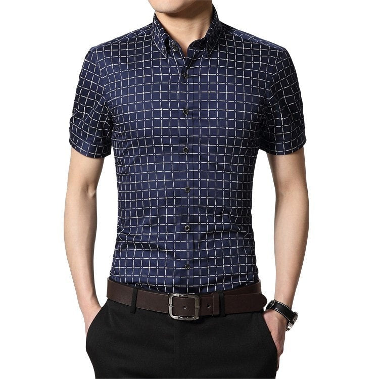 Men's Short Sleeve Casual Shirts - Casual Shirts - eDealRetail - 6