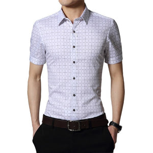 Men's Short Sleeve Casual Shirts - Casual Shirts - eDealRetail - 7