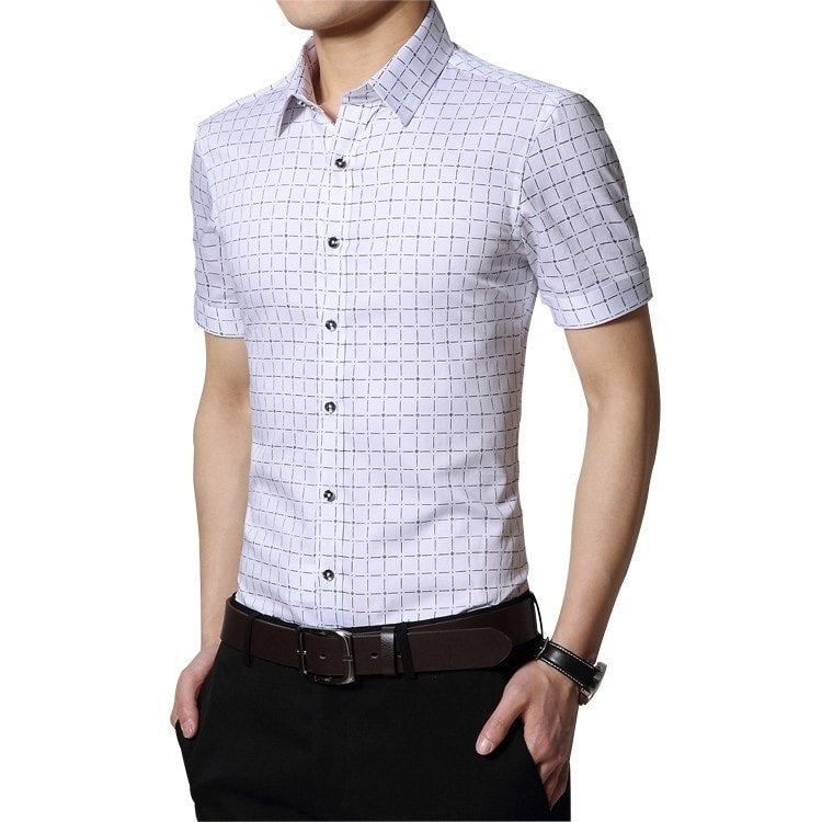 Men's Short Sleeve Casual Shirts - Casual Shirts - eDealRetail - 8
